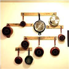 pot rack ideas pot and pan hanging rack hanging pot rack hanging pan rack wood pallet pot rack
