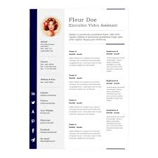Resume Template Formats Free Sample Librarian E Page Pages Resume