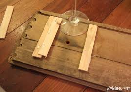 woodworking build wood wine glass rack pdf