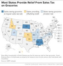 Which States Tax The Sale Of Food For Home Consumption In
