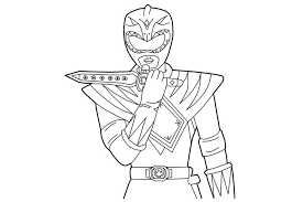 Small Picture Mighty Morphin Power Rangers Coloring Pages chuckbuttcom