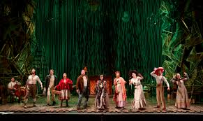 Into The Woods Set Design Broadway What Does A Stripped Down Into The Woods Look Like Playbill