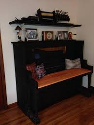 new ideas furniture. Plain Furniture Creative Old Piano Repurposing Idea Give Your Old Piano A New Life And  Showcase Artwork To Friends Httphativecomcreativeoldpianu2026 In New Ideas Furniture S