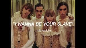I WANNA BE YOUR SLAVE - måneskin (lyrics) Chords - Chordify