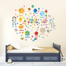 ws8010 educational solar system adventure  on personalised baby wall art uk with wall stickers uk wall art stickers kitchen wall stickers