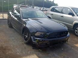 2016 ford mustang gt left front view lot 38086639