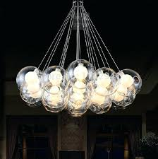 bubble pendant light bubble flow pendant light