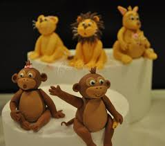 Cake Decorating Animal Figures 17 Best Images About Monkey Decoration On Pinterest Cakes