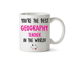 office mug. Personalised FUNNY OCCUPATION OFFICE MUG - Best GEOGRAPHY Teacher FEMALE Printed Mug Office