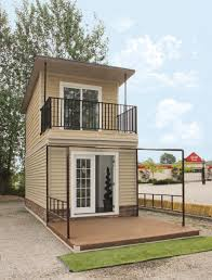 tiny house with garage. the eagle a sq ft story steel framed micro home two tiny house: full house with garage