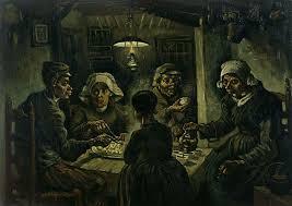 the potato eaters vincent van gogh