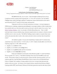 dupont challenge science essay competition dupont challenge science essay competition contact jane bachmann 515 535 4923 jane bachmann dupont com