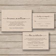 Diy Invitation Template Wedding Invitation Template Rustic Wedding Printable