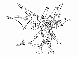 Bakugan Drago Coloring Pages Bakugan Coloring Book Pages Outstanding
