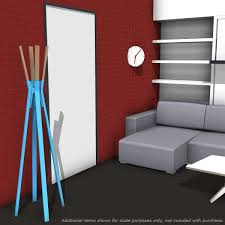 Blu Dot Splash Coat Rack Blu Dot Splash [1100] 1100100 Revit families Modern Revit 99