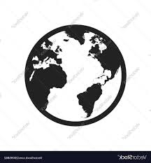 Best Hd Flat Earth Black And White Vector Cdr Free Vector Art