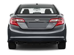 Image: 2013 Toyota Camry 4-door Sedan I4 Auto SE (Natl) Rear ...