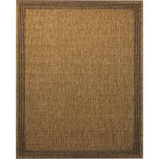 portfolio arena chestnut indoor outdoor inspirational area rug common 8 x 10