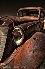 b abandoned carsabandoned placescar paintingrusty