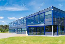 exterior office. Exterior Of A Modern Small Office Building Stock Photo - 30815765 X