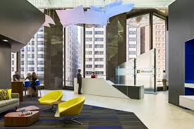 office by design. Street Front Visibility And Outward Transparency Of The Interior Space Were Key Drivers In Design New Office Space. Located At 555 California By