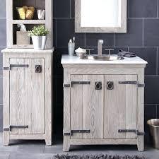 reclaimed barn wood bathroom vanity vanities fine on in rustic cabinets  driftwood