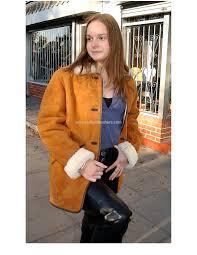 las traditional sheepskin coat