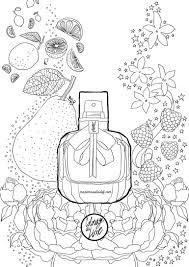 Coloriage Mon Paris Ysl Perfume Bottle Bottle And Crayons
