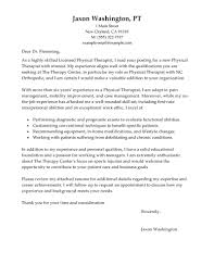 Excellent Cover Letter Examples Massage Therapist With Physical