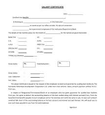 Fresh 6 Salary Certificate Template Uae Monthly Income Certificate