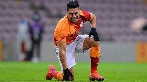 Galatasaray'da Radamel Falcao sakatlandı