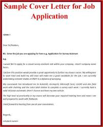 Sample Of Cover Letter Sample Of Cover Letter Example Cover Letter