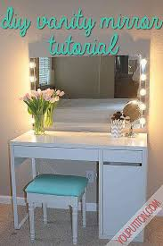 vanity desk mirror with lights beautiful makeup vanity table with mirror