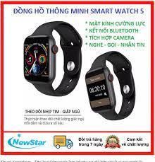 Đồng hồ thông minh nam nữ cao cấp Smart Watch 5 cho người lớn, trẻ em-