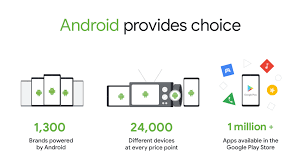 android has created more choice not less