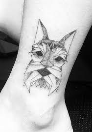 Tattoo Uploaded By Frankie Cui Muscat Geometric Schnauzer Tattoo