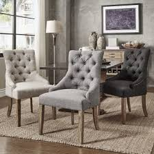 furniture chairs. Benchwright Button Tufts Wingback Hostess Chairs (Set Of 2) By INSPIRE Q Artisan Furniture