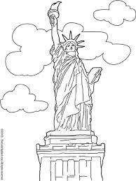 Pin Van Ilse Hollevoet Op Landen Kleurplaten New York En Wereld