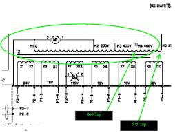 plasma cutter electrical help needed converting 220 single phase 25 Kva Transformer Single Phase Wiring Diagram 875_xfrmrtaps jpg 875_xfrmrtaps_400_460volt jpg 25 KVA Dry Type Transformer