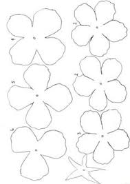 Paper Flower Printables 839 Best Templates Images Paper Flowers Diy Flowers Fabric Flowers