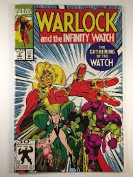 infinity watch. warlock and the infinity watch #2 (mar 1992, marvel)