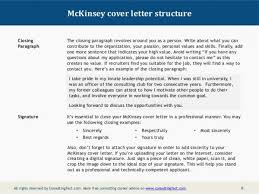 Cover Letter Mckinsey Sample Resume Fresh Consulting Cover Letter