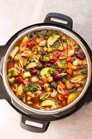 instant pot minestrone soup tasty