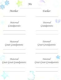 Free Family Tree Template Word 2010 Blank Printable Excel Download
