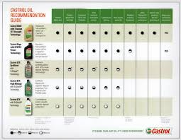 Castrol Oil Chart 16 Add Small Amounts Until The Oil Appears At The Bottom Of