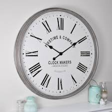 firstime paramount aged gray wall clock