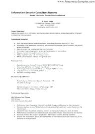 Sample Security Resume Cover Letter Resume For Security Sample