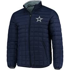 2018 autumn mens dallas cowboys g iii sports by carl banks navy switchback packable jacket fashion authentic