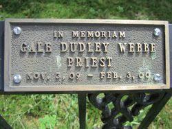 Rev Gale Dudley Webbe (1909-2000) - Find A Grave Memorial