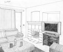pin Drawn living room detail drawing #7